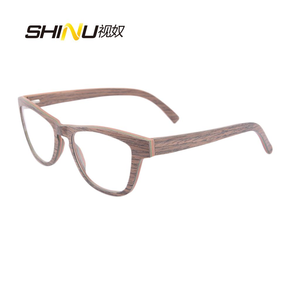 Eye Glasses Frames for Women Optical Frame Designer Brand New Wood ...