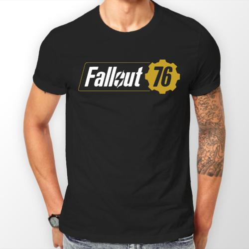 FALLOUT 76 T-SHIRT MENS WOMANS BETHESDA XBOX PLAYSTATION SWITCH PC Mens  2018 fashionable Brand 100%cotton Cheap wholesale tees