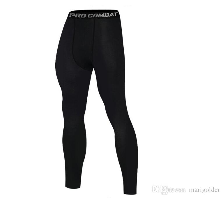 d8f34eb9f8 2019 Sports Tights New Men'S Basketball Fitness Training Running Leggings  Quick Drying High Elastic Tight Pants From Marigolder, $17.32   DHgate.Com