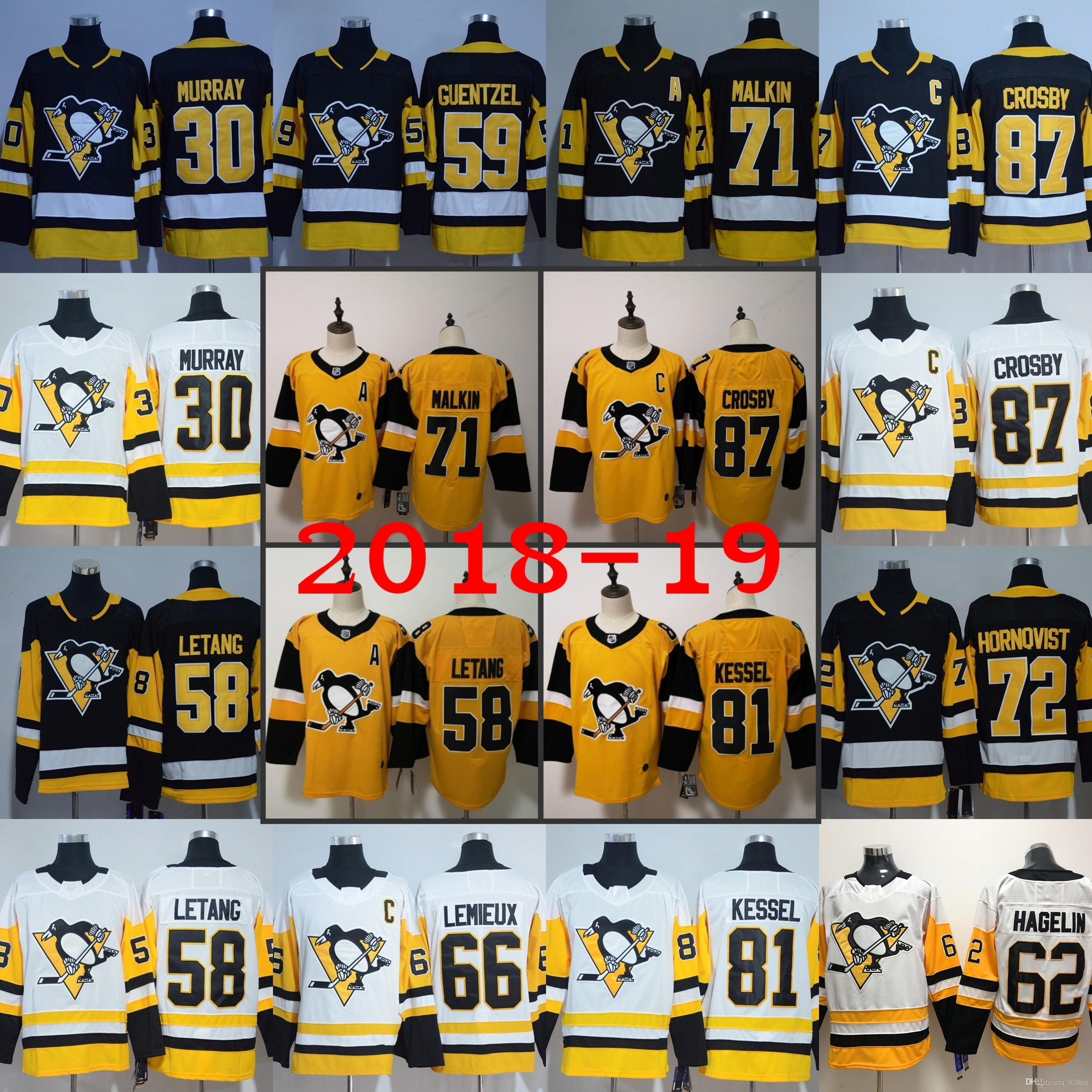 Third MEN Youth Women Pittsburgh Penguins Sidney Crosby Mario ... 4022a8b12