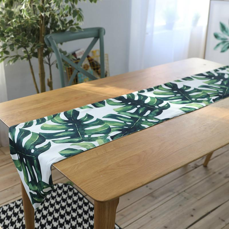 Table Runners Runner For Wedding Modern Cotton Printed Rectangle Home Party  Decoration Dinner Coffee Tables Covers Vinyl Table Cloth Vinyl Table Cloths  From ...