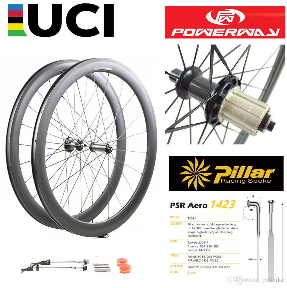1 Piece Clincher Tubular Tubeless Carbon Road Bike Rim