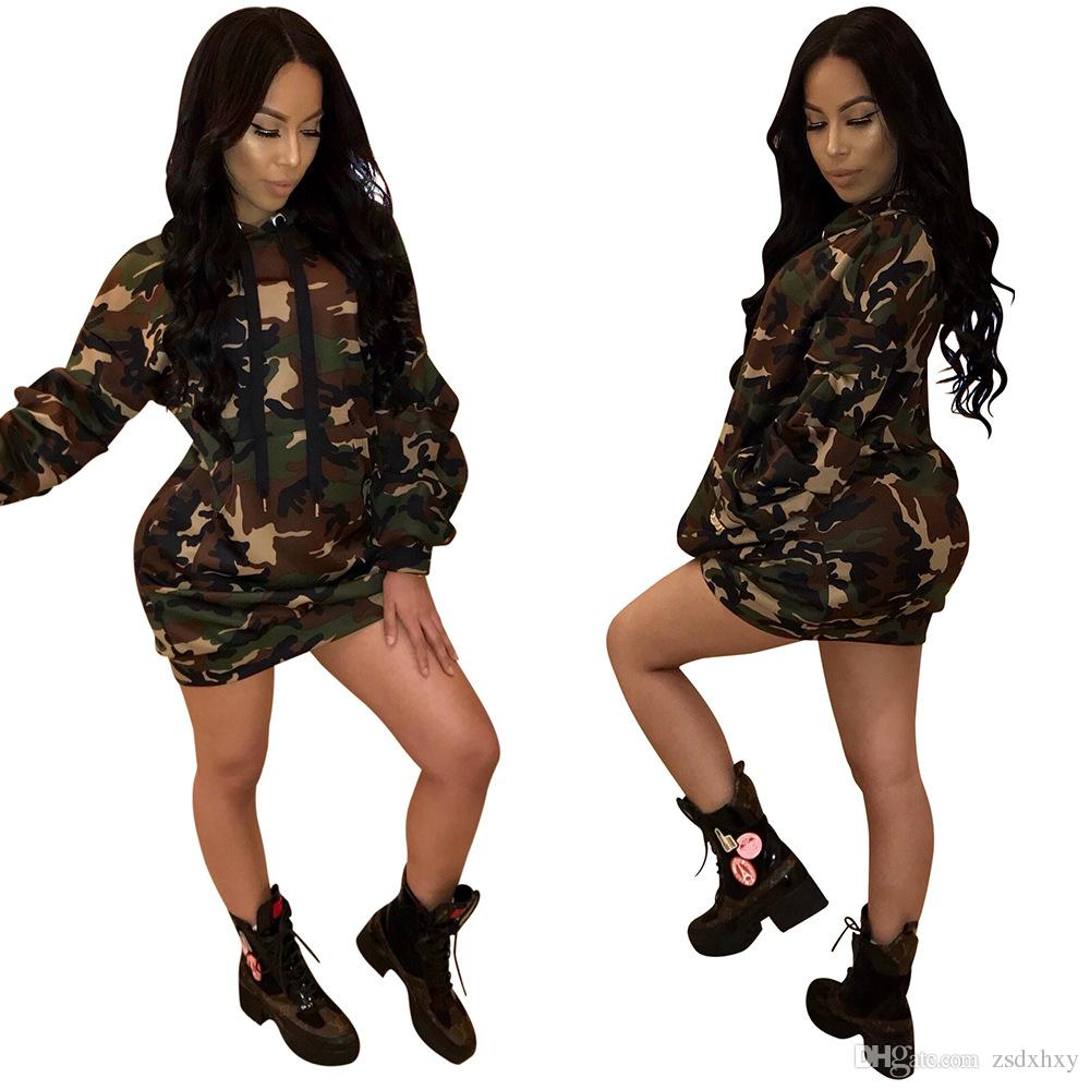 Sexy Club Wear Dress for Party Camouflage Ladies Clothing Linen Cotton Women Mini Dress Loose O Neck Women Gown Hippie Clothing Dress Female