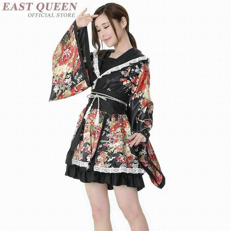 21fd11770 Compre Kimono Japonés De Las Mujeres 2018 Ropa Tradicional Japonesa ...