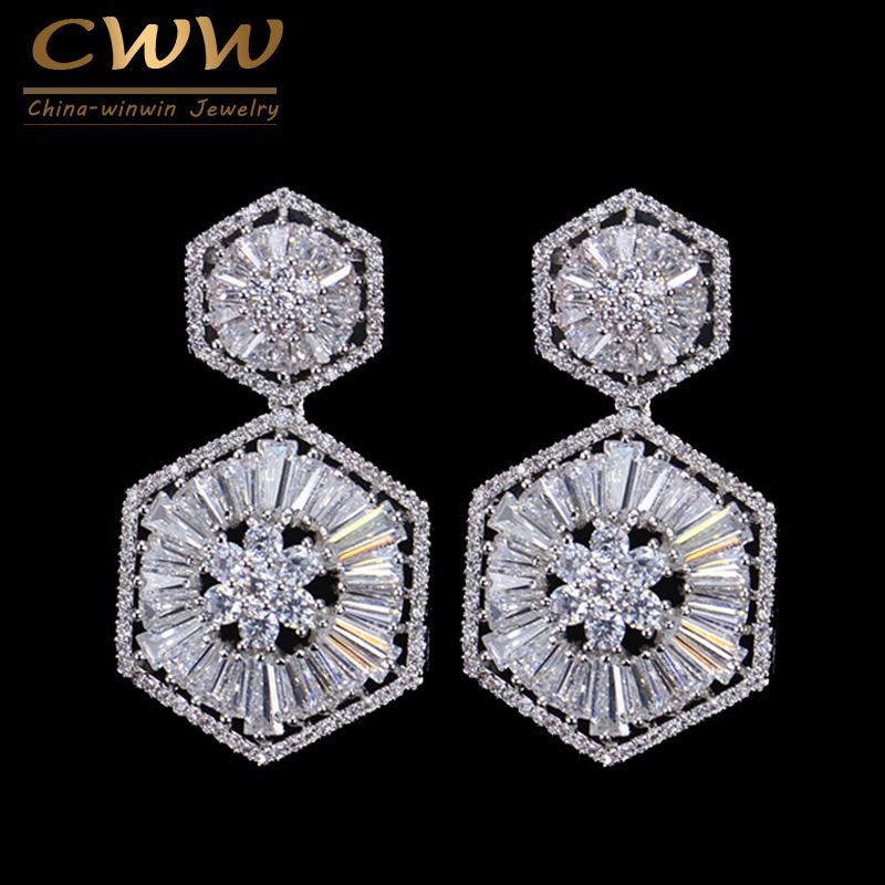 Wholesale Top Quality 925 Sterling Silver Pin Luxury Cubic Zirconia ... 69cca82b0a99