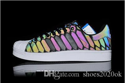 1c2145ccdfc68 2018 New The Chameleon Men S And Women S Shoes ZX FLUX XENO New Reflective  Black Snake Spirit Leisure Shoes Boat Shoes Shoes For Men From Shoes2020ok