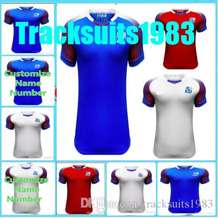 ceb090fdc Rugby 2018 2019 Jerseys Iceland SIGURDSSON SIGTHORSSON 17 18 Home Away  Jersey 10 Or More Free To Send DHL AAA UK 2019 From Tracksuits1983