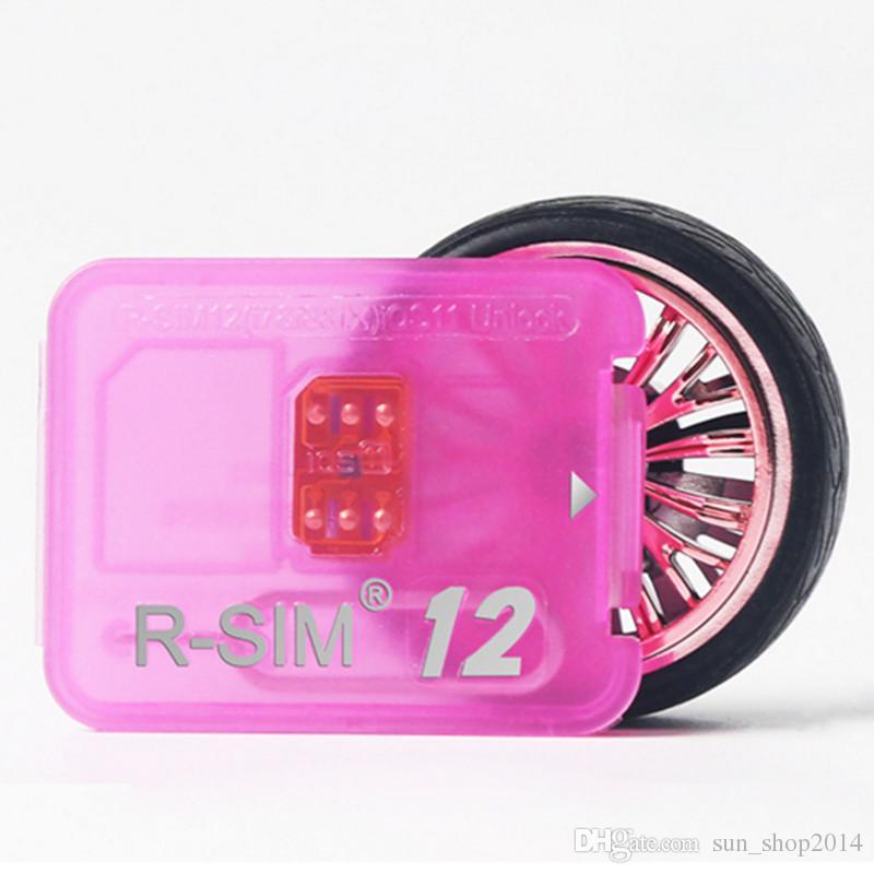 Rsim 12 for phone unlock card for 8 7 plus i6 unlocked iOS 11.x-7.x 4G CDMA GSM WCDMA SB AU SPRINT