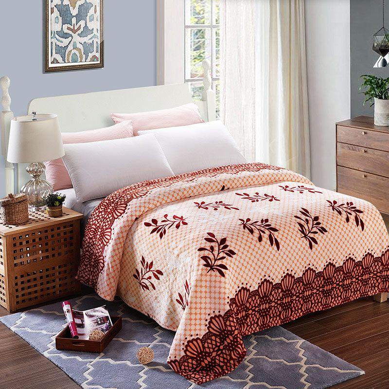 200x230 Home Textile Fleece Blanket Summer Super Warm Soft Blankets ...