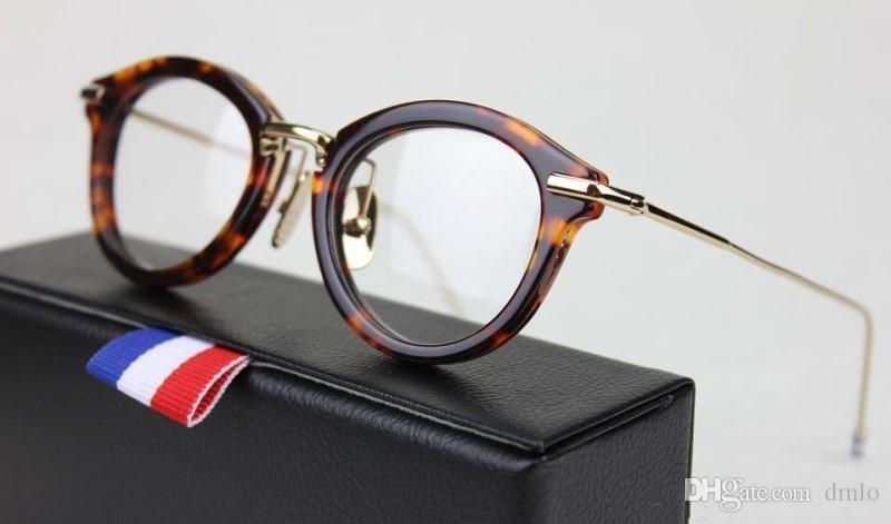 b9f45b02900 Brand Retro Myopia Glasses Frames Round Vintage Eyeglasses Frames ...