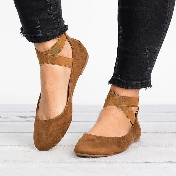 a9ae34ad305410 Acheter Femmes Été Occasionnel Chaussures Espadrilles Plates Plus La Taille  Sandale À La Cheville Sandales Femme Flock Chaussures Pour Les Filles De  $20.59 ...