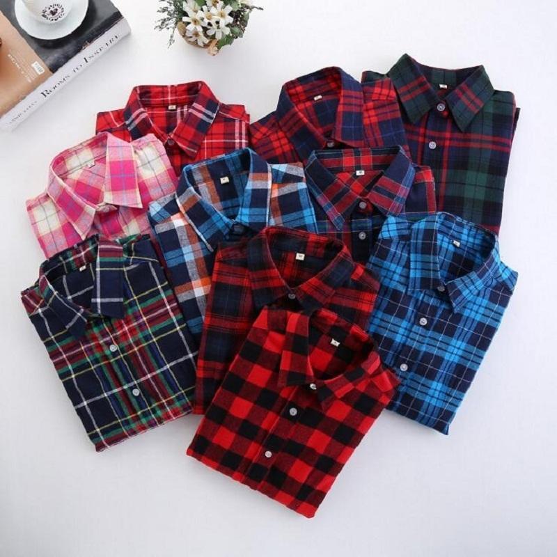 c46fbe2f 2019 5XL New Fashion Korea Preppy Style Women Slim Blouse 2019 Long Sleeve  Striped Lattice Shirt Plus Size Women Clothing Tops Blusa From Stephanie03,  ...