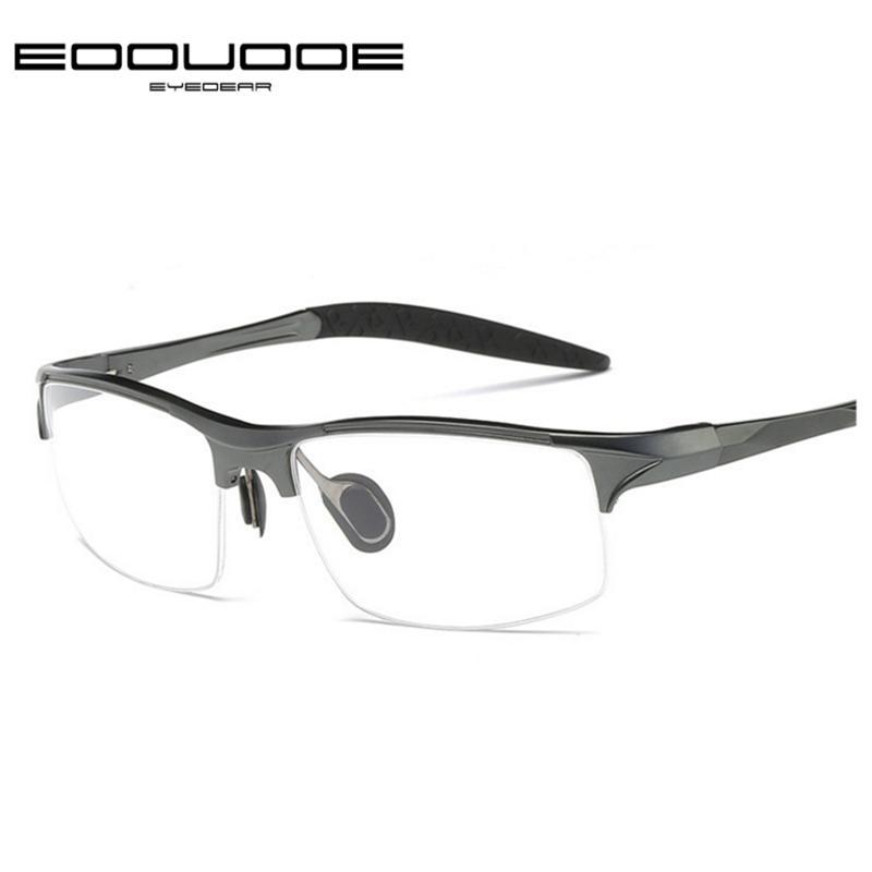 c7f6cadb2032 2019 EOOUOOE Brand Prescription Men Glasses Frame Aluminium Magnesium Alloy  Frame Spectacle Eyeglasses Myopia Glasses Sports Goggles From Bojiban