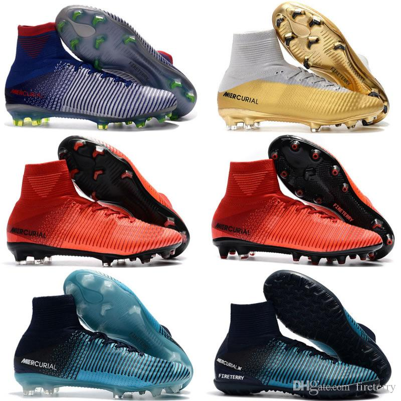 High Fashion Mens Womens Mercurial Superfly AG Low Football Boots Neymar Kids Soccer Shoes Soccer Cleats buy cheap cheap xolbMrIL
