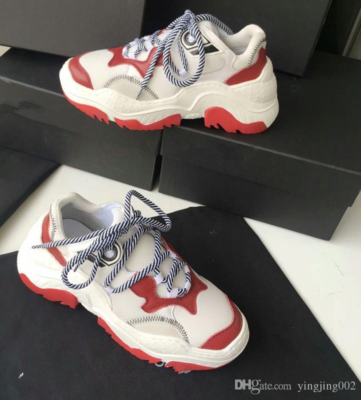ec575a66cbd1 Luxury Brand Men Sneakers Casual Superstar Red Bottom Queen Shoes ...