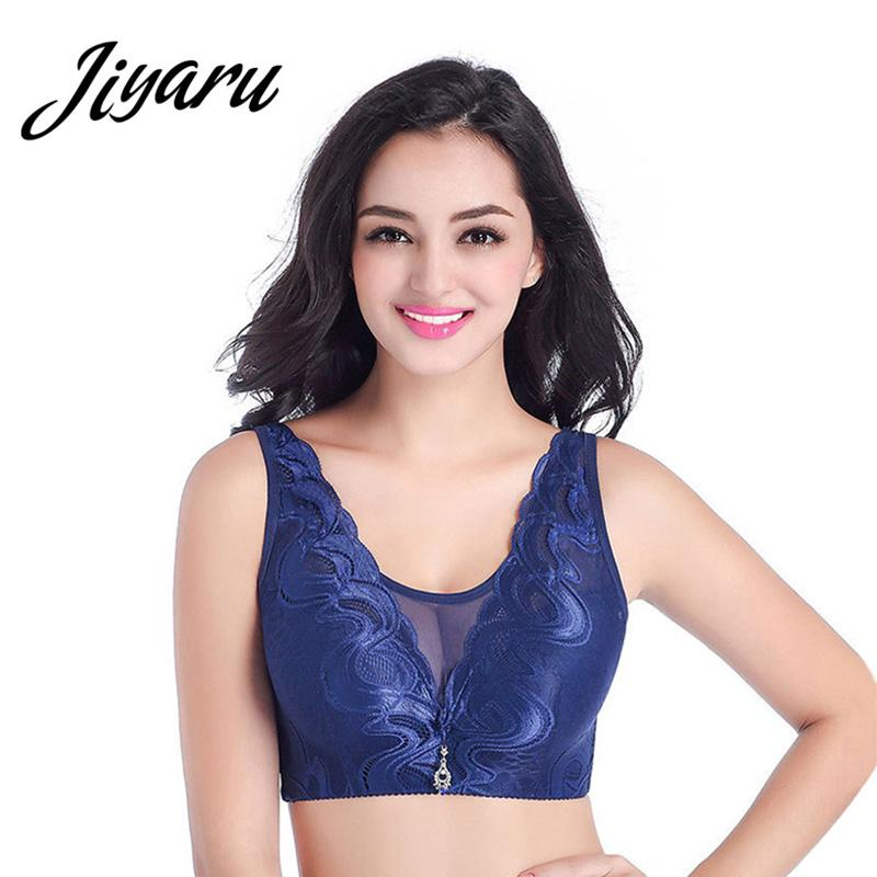 01d3a050ef Lace Bras for Women Wirefree Push Up Bra Intimates Sexy Underwear ...