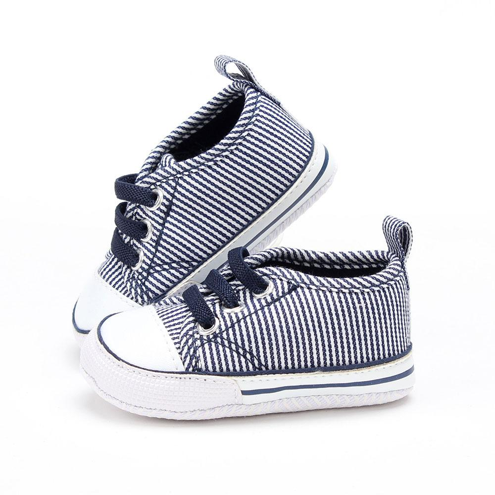 8a687b3be321d 2018 Fashion Striped Baby Boys Shoes First Walkers New Infant Boys Sneakers  Casual Shoes