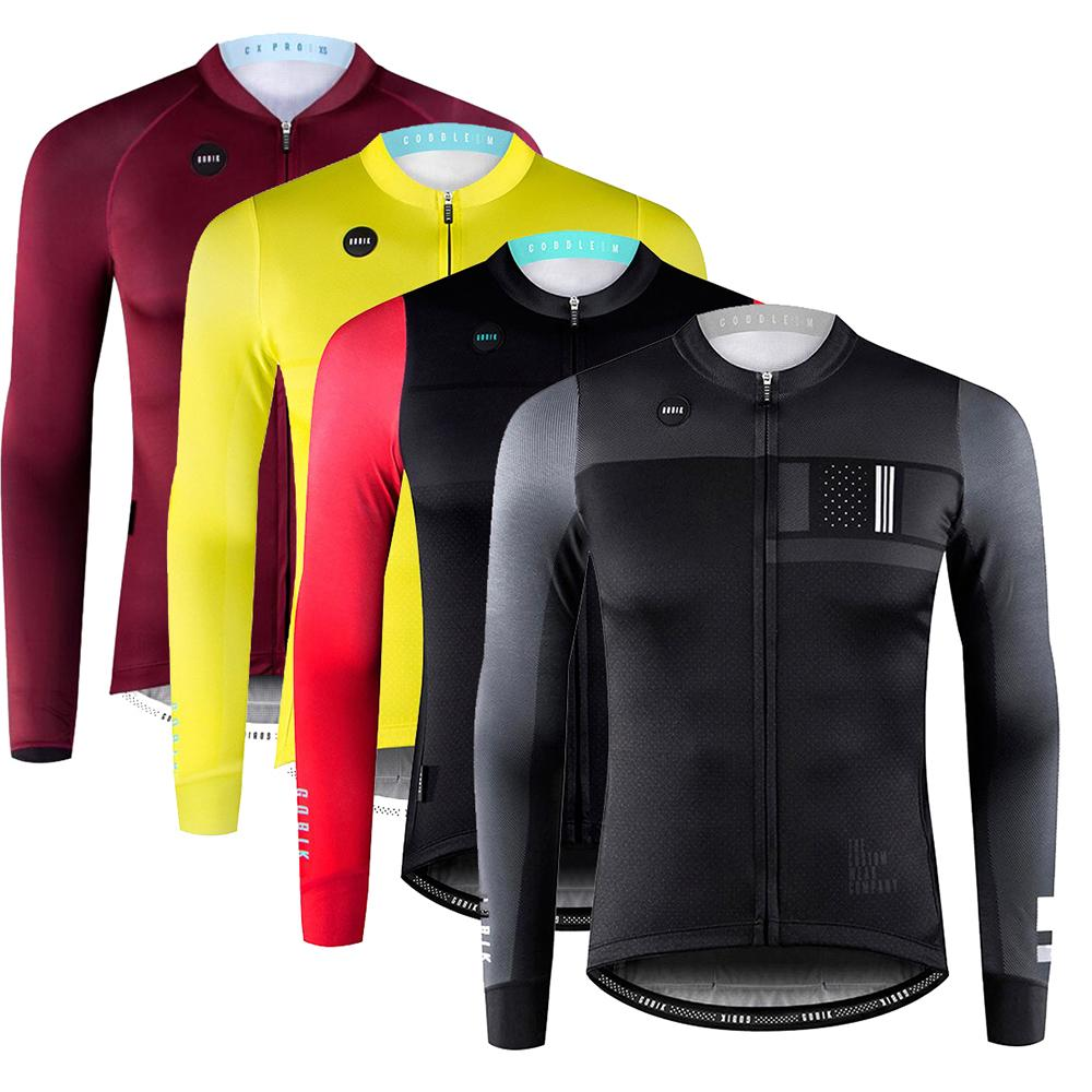2018 New Men S GOBIK Ciclismo Cycling Jersey Long Sleeve Autumn Bicycle MTB  Road Bike Tops Clothing Wear Maillot Ropa Ciclismo V Neck Tops Cycling  Clothing ... 05cdabe6c