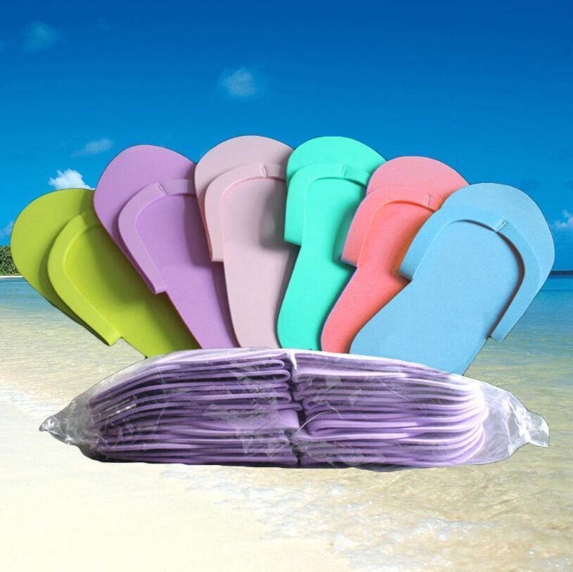 f12ea650189b EVA Foam Slipper Salon Spa Pedicure Disposable Slippers 27 11.5cm Beach Flip  Flops Beauty Slipper  Pair OOA5358 EVA Foam Slipper Salon Slipper Pedicure  ...