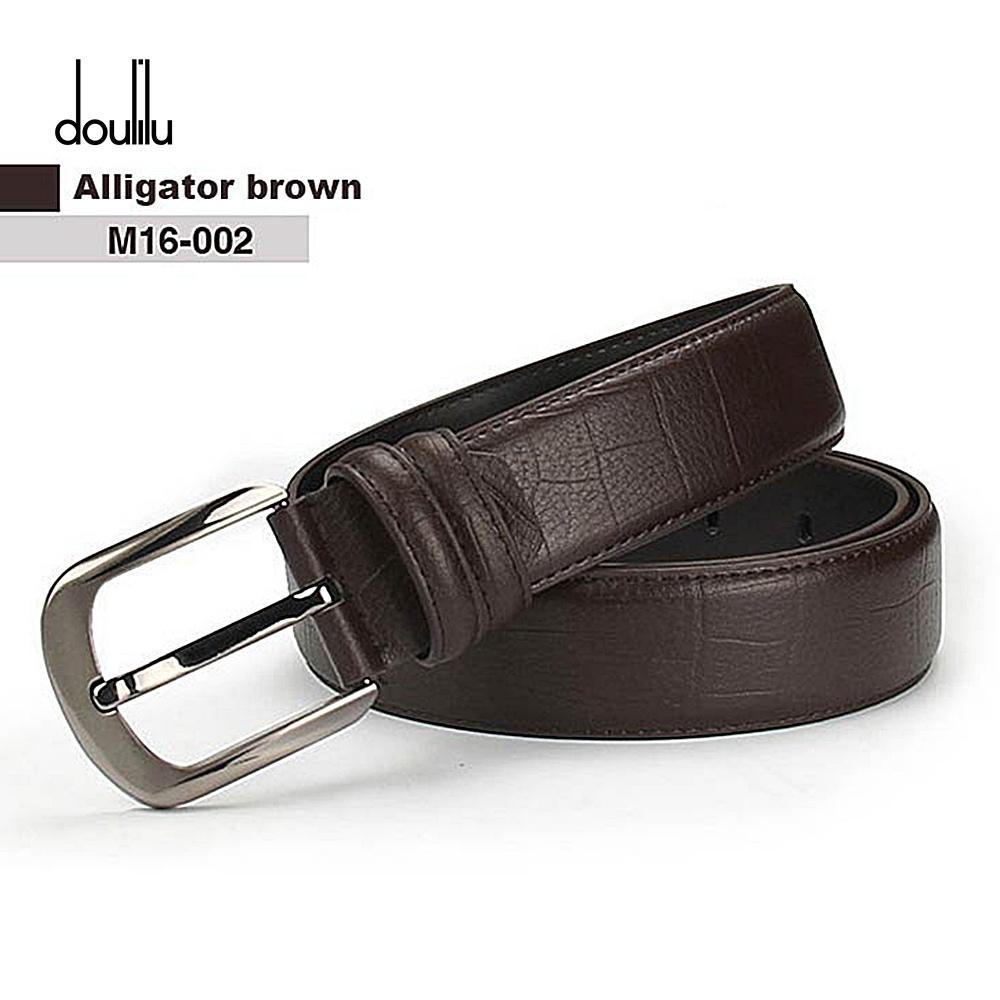 4ef6cbf3ade Compre DOULILU Cinturón De Cuero Negro Hombres Fatty Cinturón De Cuero  Genuino Cinturón De Gran Tamaño Hebilla De Modelado Correa 145 Cm Cinturon  Hombre A ...