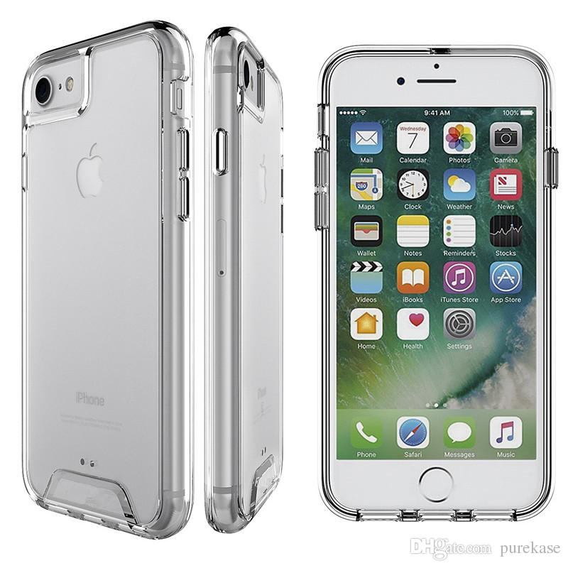 pure kase for iphone 8 case clear,for iphone 7 case, clear slim fit