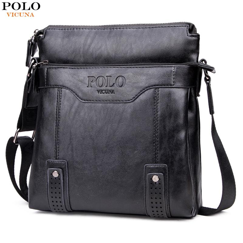 VICUNA POLO Vintage Hollow Out Business For Men Retro Antique Messenger Bags  Leisure Leather Mens Bags Single Shoulder Male Stone Mountain Handbags ... bc70364ed6056