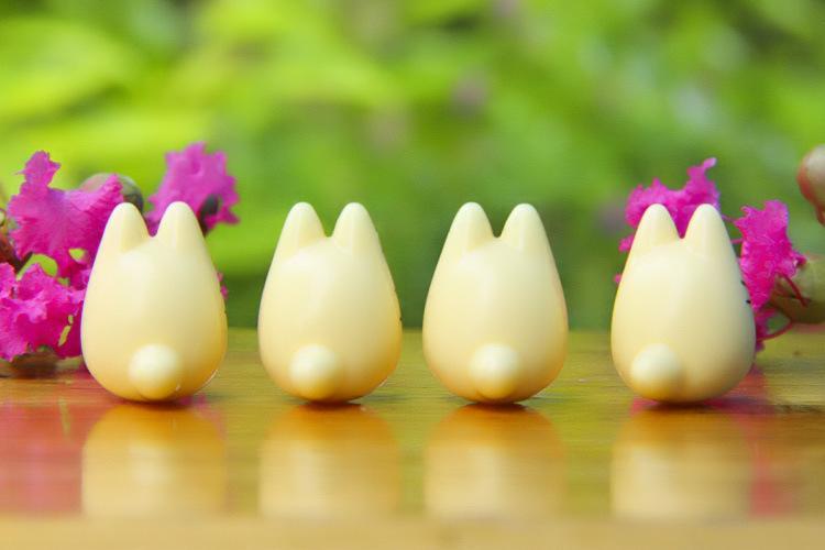سوبر لطيف جارتي Totoro نموذج اللعب الشكل السلامة الراتنج TOTORO منتديات أرقام استوديو غيبلي البسيطة نموذج الاطفال هدايا
