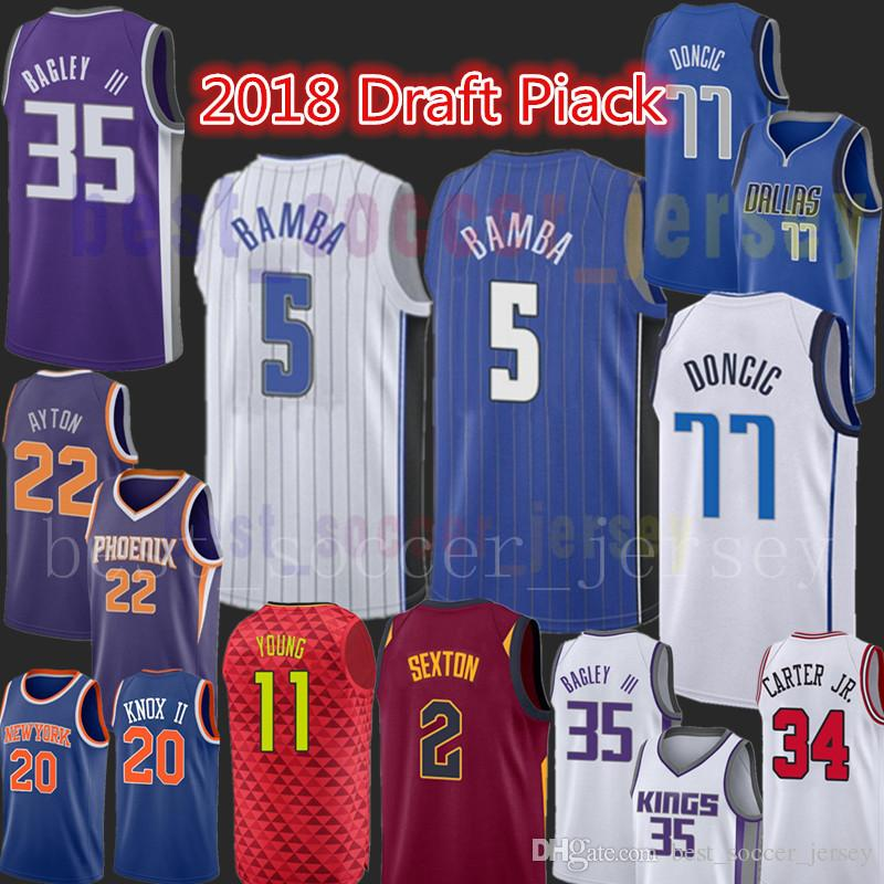 1f2d4321a5c2 ... 2018 5 Mohamed Bamba Jersey Orlando 2018 New Draft Piack Magic  Basketball Jerseys Top Sales MenS ...