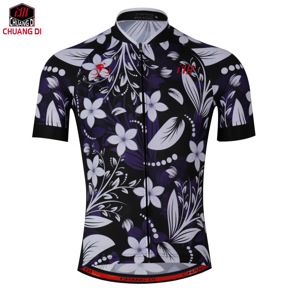 30f0ed49d Chuangdi 2018 Breathable Cycling Jersey Summer Mtb Bicycle Short Clothing  Ropa Maillot Ciclismo Sportwear Bike Clothes Men Cycling Jersey Cycling  Jersey Men ...