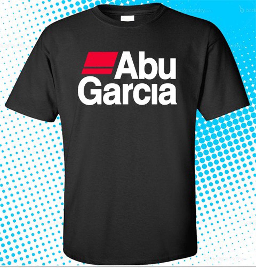 ABU GARCIA Equipment Company Logo Men/'s White T-Shirt Size S M L XL 2XL 3XL