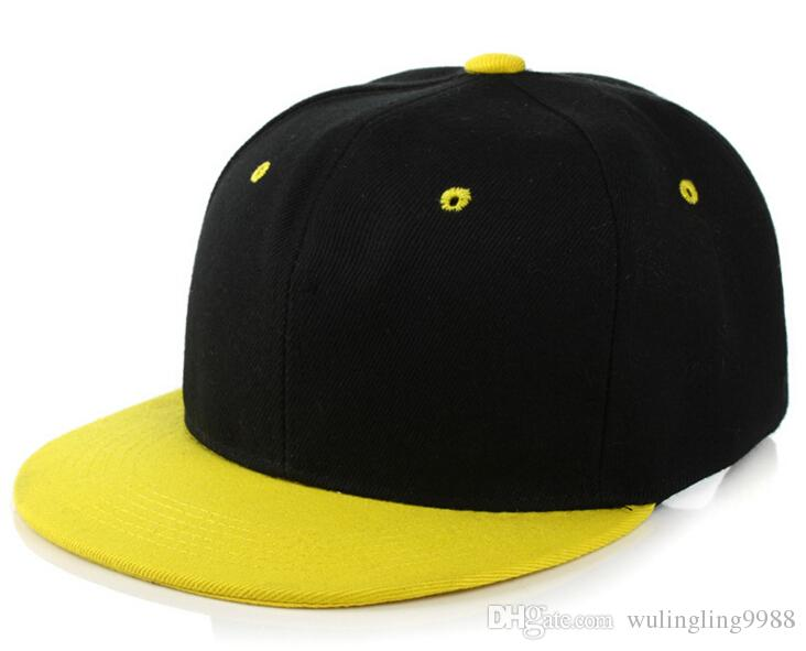 38 ألوان مصمم عادي الهيب هوب قبعات قابل للتعديل snapbacks مخصص فارغة قبعات البيسبول للبالغين رجل إمرأة الصيف الشمس قناع سنببك كاب