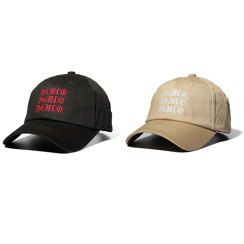 6bed3b23f46 New 2018 I Feel Like Pablo Red Hat Dad Baseball Cap Kanye Pablo Embroidery  Dad Hat Men Women Snapback Cap Hats Kangol Baseball Caps From Fengzh