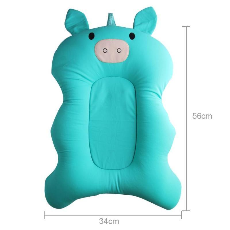 2018 Cartoon Pigs Newborns Baby Bathing Mat Baby Bathtub Pad Infant ...