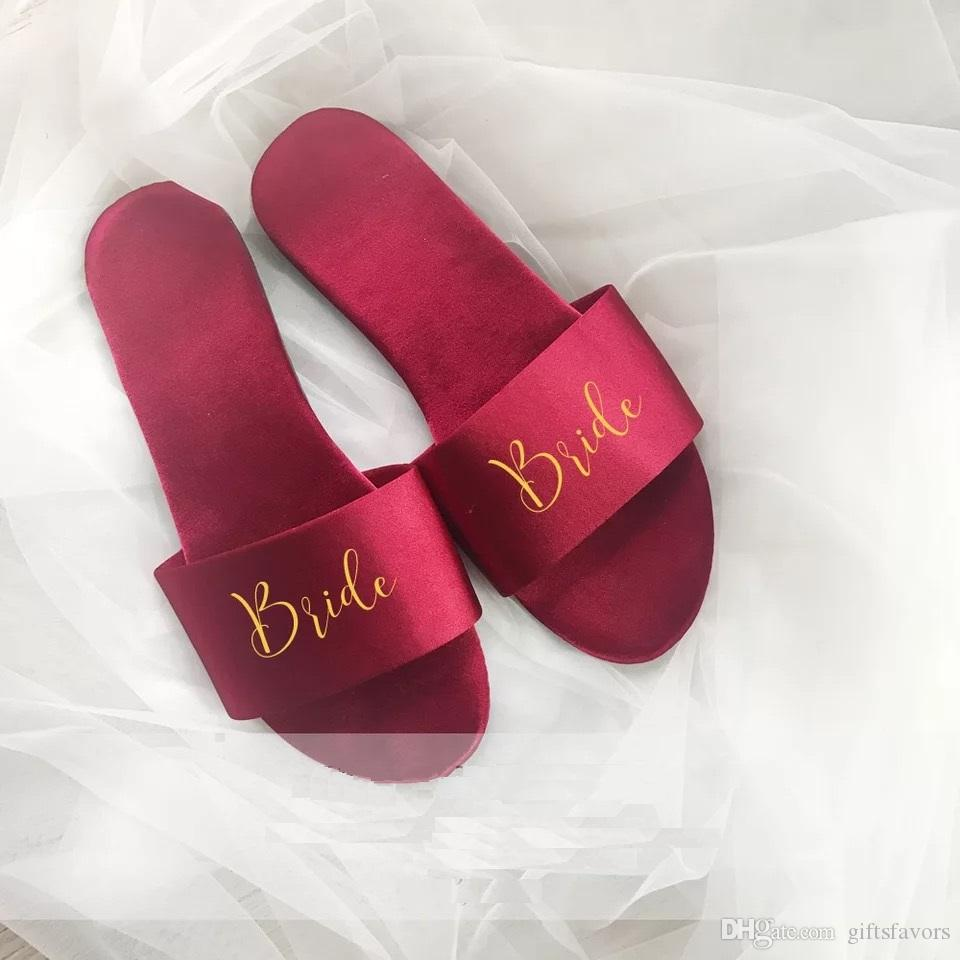 personalized bridesmaid gift ideas satin slippers unique wedding bridal shower party gifts cheap wholesale bridesmaid gifts bridesmaid gift ideas bridal