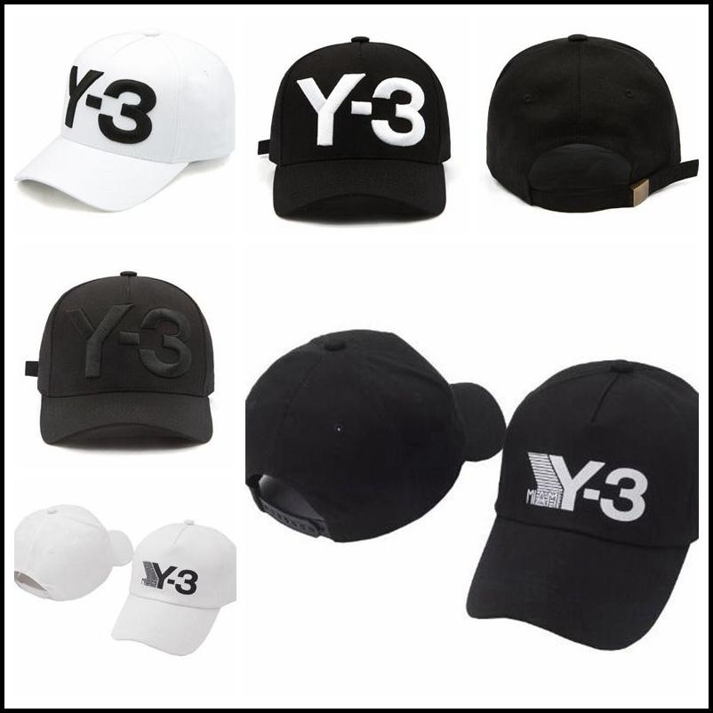 9248c00eff1 2019 New Y 3 Dad Hat Big Bold Embroidered Logo Baseball Cap Adjustable  Strapback Hats Y3 Ball Caps CCA9221 From Sport no1
