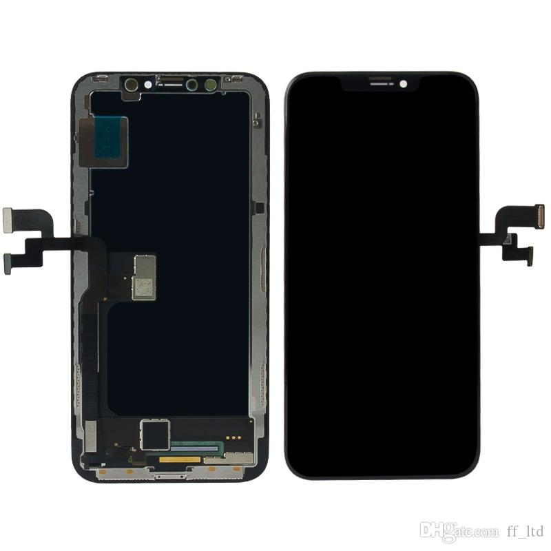 Wholesale Price Original Best Quality for iPhone X LCD Digitizer Display with Touch Screen Replace Full Assembly 100% Tested