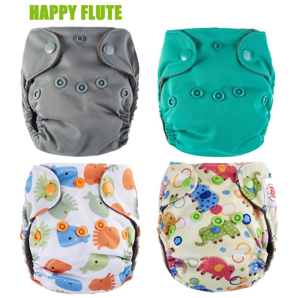 6c50ee708e28 Compre Happy Flate Newborn Pañales Diminuto AIO Pañal De Tela, Carbón De  Bambú De Doble Gussets Interior, Impermeable PUL Exterior, Fit 5KG Bebé A  $25.13 ...