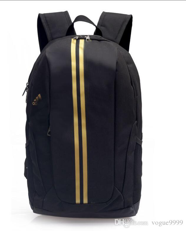 b251219ac747 New European Designer ADIDAS Backpacks Fashion Brand Name Travel Bag School Backpacks  Big Capacity Tote Shoulder Brand Name Bags Toddler Backpack Kelty ...