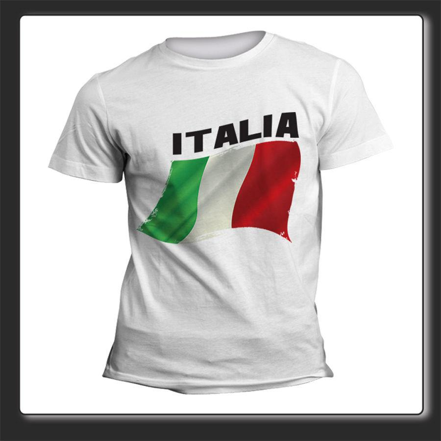 quality design 0ad31 0a2bf T Shirt Uomo Donna Flag Tifo Italia
