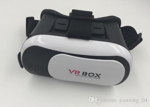 VR Box 2.0 + Gamepad réalité virtuelle lunettes 3D casque Casque VR BOX pour Smartphone 3,5 pouces ~ 6 pouces avec le paquet de détail