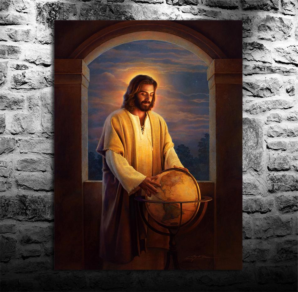 2019 Jesus Christ Hd Canvas Printing New Home Decoration Art