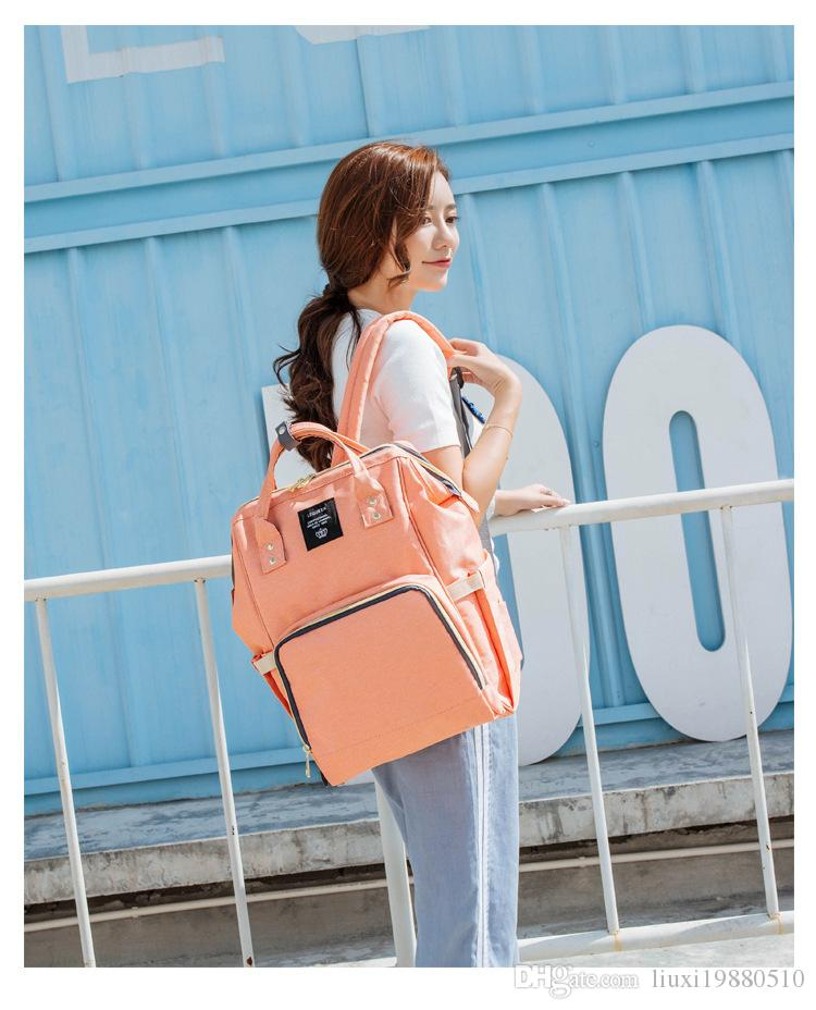 NewestLand Mommy Backpacks Nappies Bags Mother Maternity Diaper Backpack Large Volume Outdoor Travel Bags Organizer Free DHL Towel