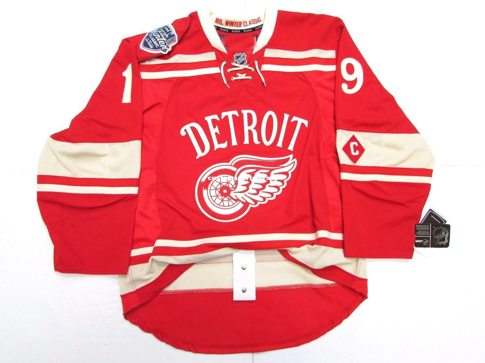 2019 Cheap Custom YZERMAN DETROIT RED WINGS 2014 WINTER CLASSIC JERSEY  Stitch Add Any Number Any Name Mens Hockey Jersey XS 5XL From  Customsportsjersey 616c1452e