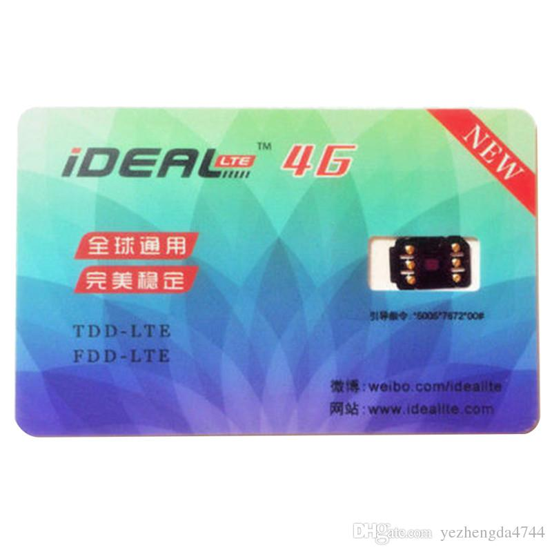Gsm 4g Unlock Sim Card Hot Sale 10 3 2 Plug And Play For Iphone 7 6s