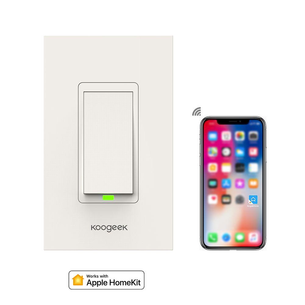 Online Cheap Koogeek Wi Fi Enabled Smart Light Switch Works With ...