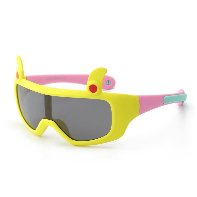 6eda20c7ae Children Sunglasses Baby Sunglass Kids Sun GlassesSilica Gel Wholesale 2018  Fashion High Quality Cool Personality Polarized Riding Colourful Discount  ...