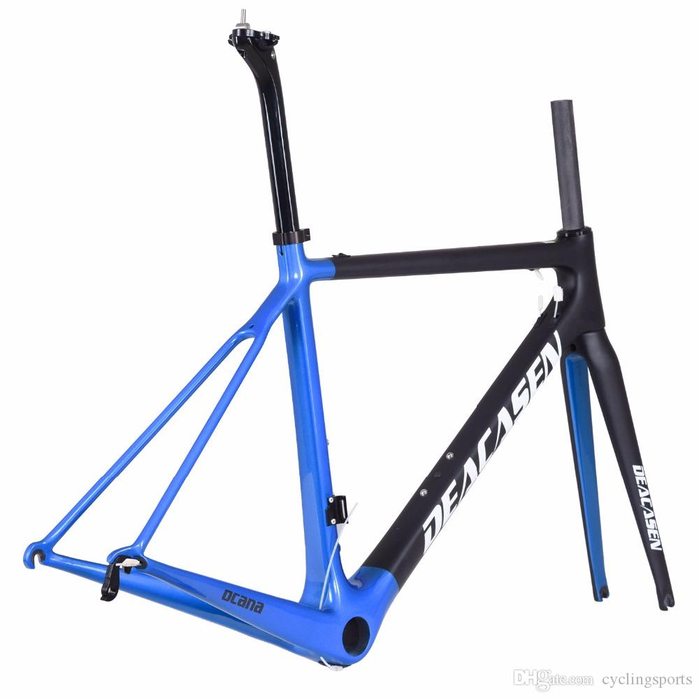 Deacasen New Super Racing Bike Ocana Carbon Fiber Bike Frame Di2 ...