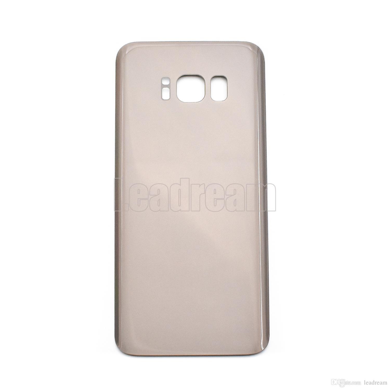 couvercle de la batterie couvercle de la batterie arrière en verre couvercle pour Samsung Galaxy S8 G950P G950P S8 Plus G955P avec autocollant adhésif gratuit