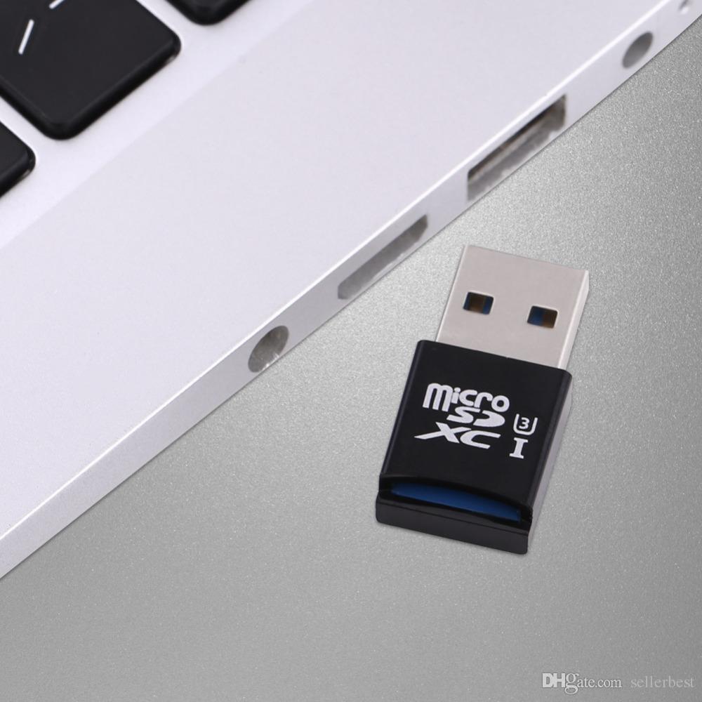 For Windows Mac Super Speed MINI 5Gbps USB 3.0 Micro SD/SDXC TF Card Reader Adapter