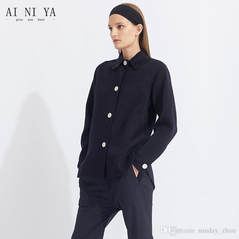 a899148cc03 2019 New Black Ladies Business Pants Western Decoration Two Piece Suit  Chinese Jacket Suit Female Office Uniform Ladies Pants Suit From  Sunday zhou